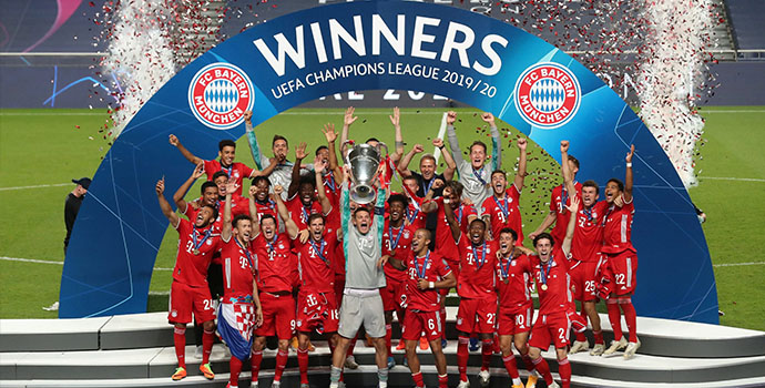Bayern Munich crowned conquerers of Europe for 2019/20 champions league season