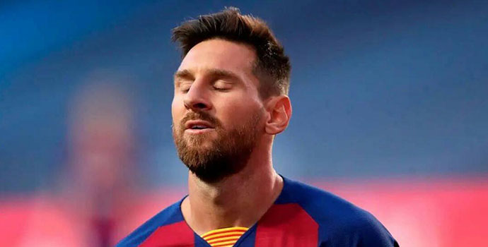 Messi to leave Barca