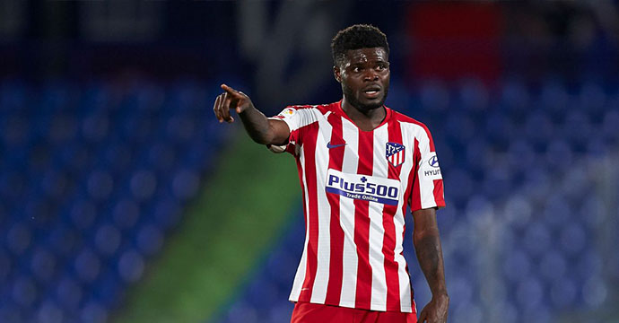 Thomas Partey joins Arsenal Football Club.