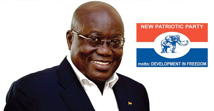 Nana Akuffo Addo has been declared President Elect of the Republic of Ghana