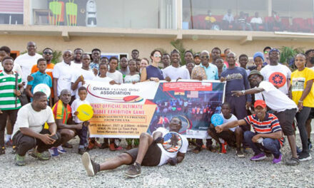 Ghana Flying Disc Association Receives Official Acknowledgement-WFDF