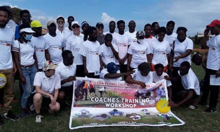 Ghana Flying Disc Association (GFDA) Coaching Course Ended at the Nungua Town Park